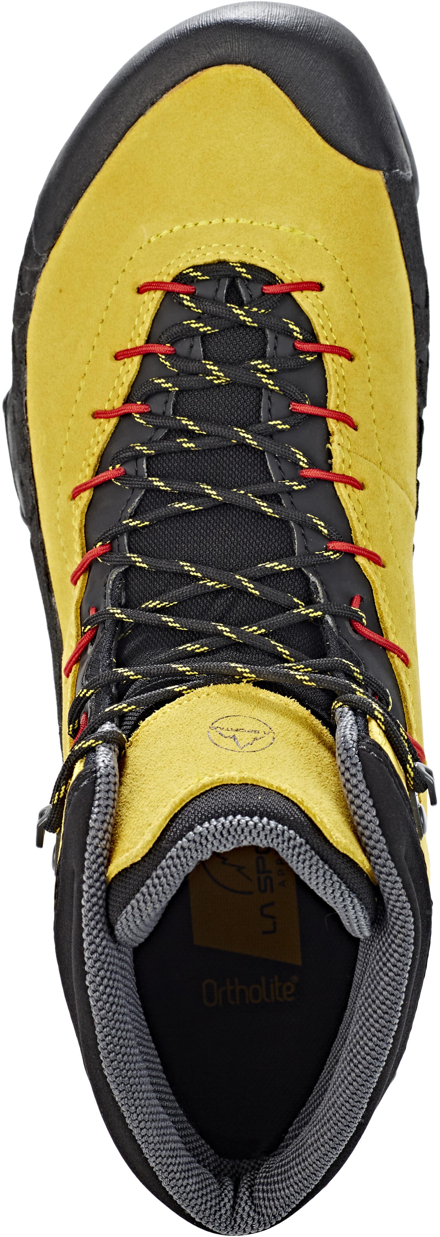70baa3ecae4e0 La Sportiva TX4 GTX Mid - Chaussures Homme - jaune noir sur CAMPZ !